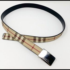 Burberry Accessories - Authentic Classic Plaid Burberry Belt